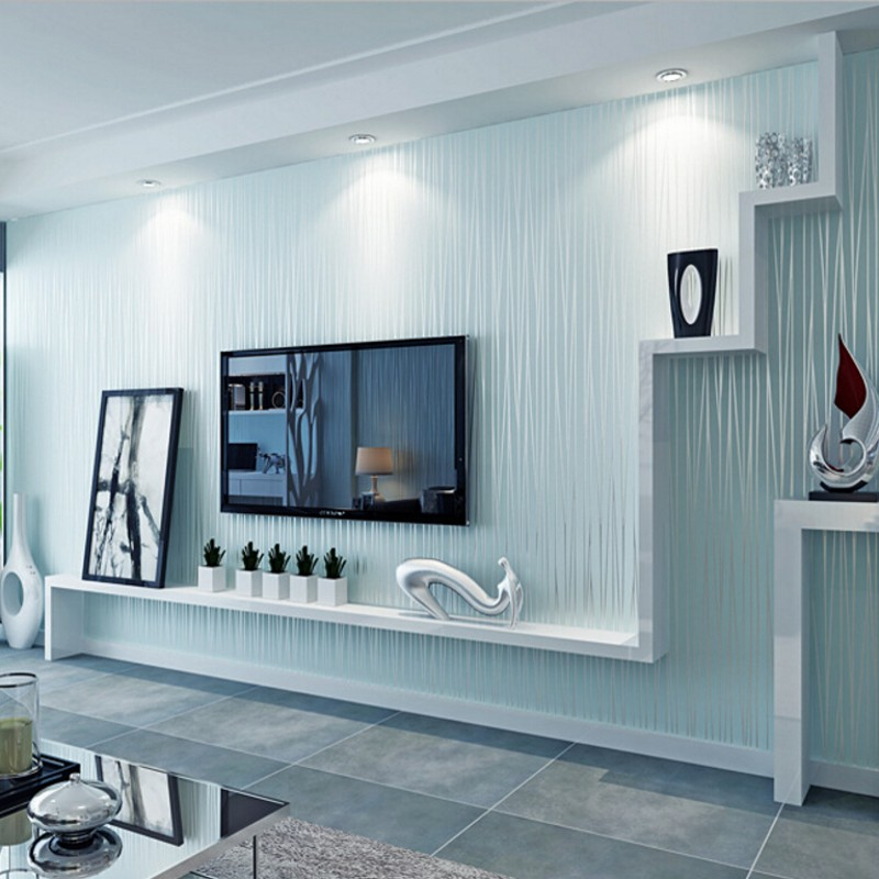 Beibehang Wand Papier Home Decor Moderne Reine Farbe Plain Vliesstoffe  Tapete Wohnzimmer Schlafzimmer TV Hintergrund 3D Tapete