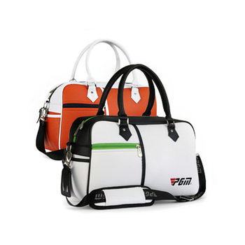 Sacca Da Golf In Pelle   PGM Cuoio DELL'UNITÀ Di Elaborazione Vestiti Da Golf Bag Uomo Donna Scarpe Pacchetto Anti-sporco A Forma Di Scatola Sacchetto Di Grande Capienza Doppia-deck Sacchetto Di Vestiti 3 Colori