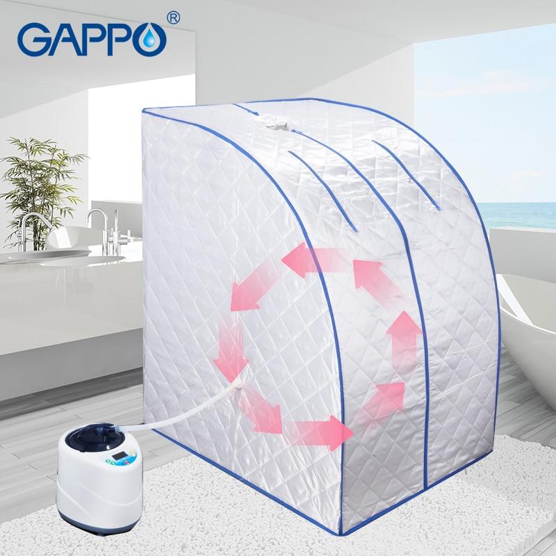 GAPPO Steam Sauna portable steam bath home sauna Household infrared sauna box SPA with steam generator