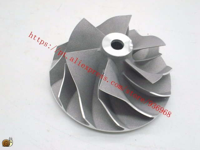 GT2252V Турбокомпрессор Компрессора Колеса 40.2 мм * 52 мм, 6/6 blades supplier by AAA частей Турбокомпрессора
