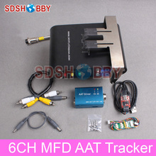MyFlyDream 6CH MFD Automatic Antenna Tracker AAT Tracker V5.0 Combo Including AA