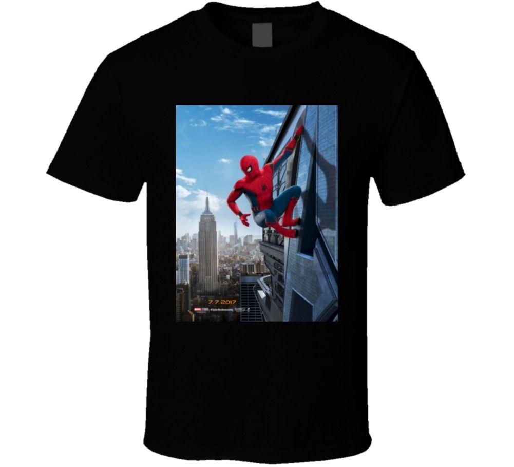 Spiderman Homecoming Comic Book Movie T Shirt