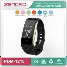 Zencro производитель Китай сердечного ритма браслет шагомер, счетчик калорий Bluetooth трекер