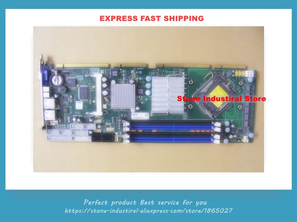 Original LF-PCI-760 NICE (E8400) Q35 chip Full-length industrial equipment motherboard