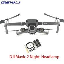 DJI Mavic 2 pro/Filght zoom Flash LED Lâmpada Luz Kit para DJI Mavic 2 Vôo Noturno Em Busca de Iluminação drone Acessórios