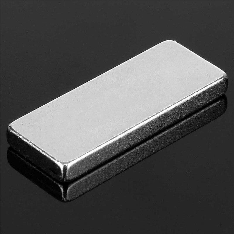 10pcs 25 X 10 X 3mm N52 Block Magnets Rare Earth Neodymium