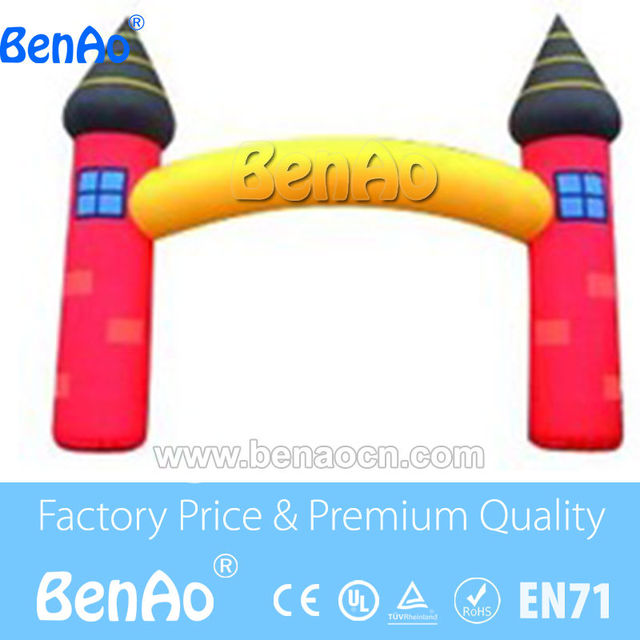 R0163 Free shipping cheap inflatable arch,halloween inflatable arch,inflatable welcome arch/Inflatable Finish Line Arch for sale