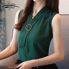 Fashion feminine blouses women shirt Summer Sleeveless ladies