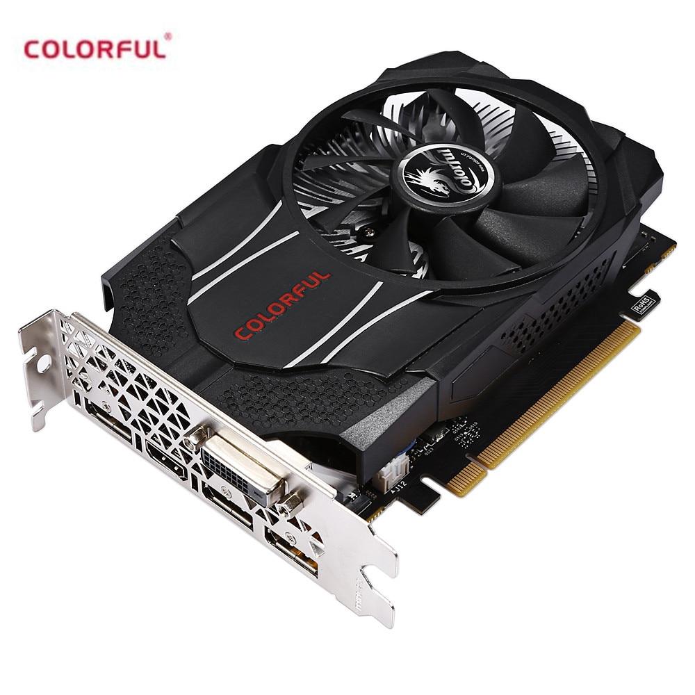 все цены на Colorful NVIDIA GTX1060 Mini OC 3G Gaming Graphics Card 8000MHz / 3GB / 192bit / GDDR5 Video Card for Deaktop Game Player онлайн