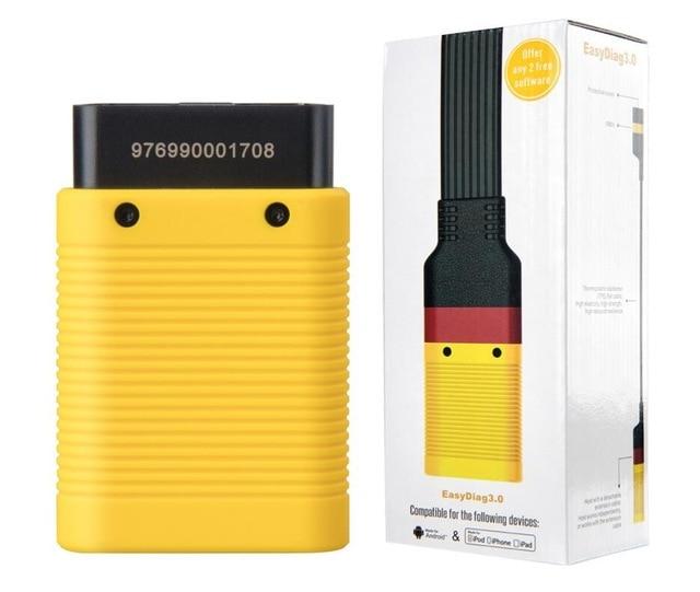 LAUNCH X431 EasyDiag 3.0 OBD2 Diagnostic Tool Easydiag 3.0 Plus Extend Cable 2.0