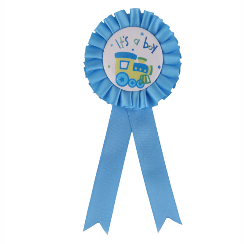 12 Name Rosette Baby shower Party Congratulations Gran Nan Mummy Dad To Be Badge