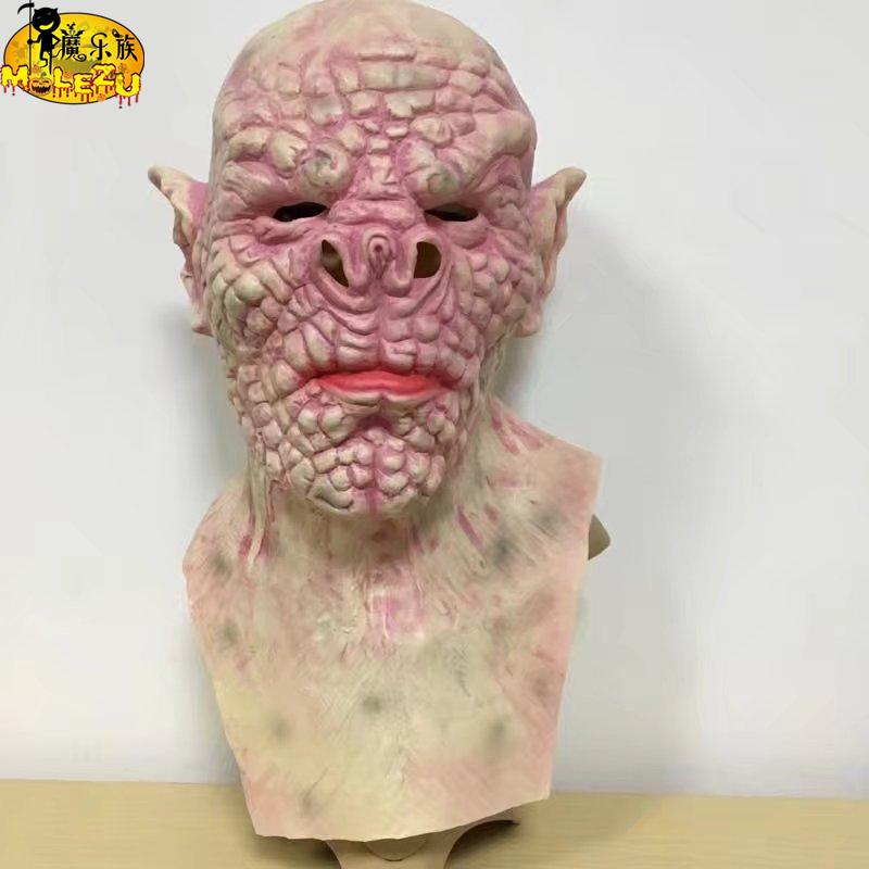 halloween movie latex bloody mask zombie face mask melting walking dead horror costume party prop - Zombie Props