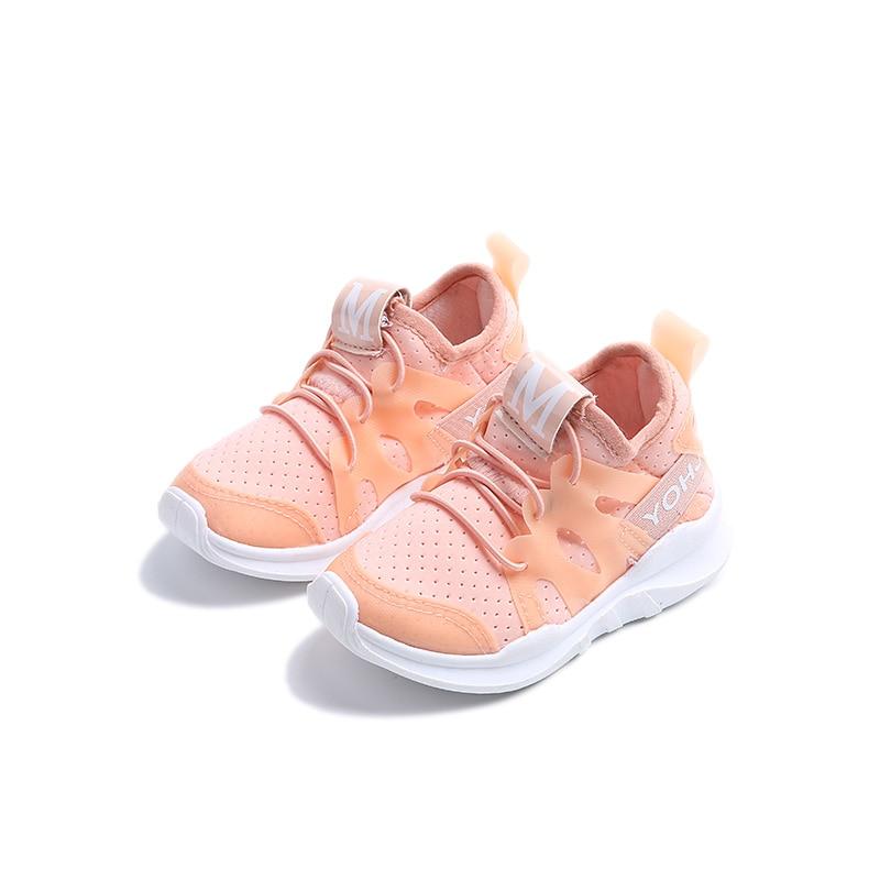 2017 მოდის ბავშვები გაზაფხული ზაფხული ბიჭი ჩვეულებრივი შემთხვევითი სპორტი თეთრი ფეხსაცმლის ბავშვთა mesh mesh sneaker Brathable Girl დასვენება Mesh სუნთქვის ფეხსაცმელი