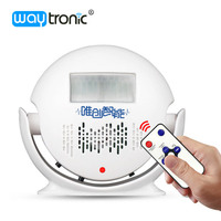 Portable Record Player Apartment Shop Doorbell Visitor Welcome Greeting Infrared Sensor Automatic Induction