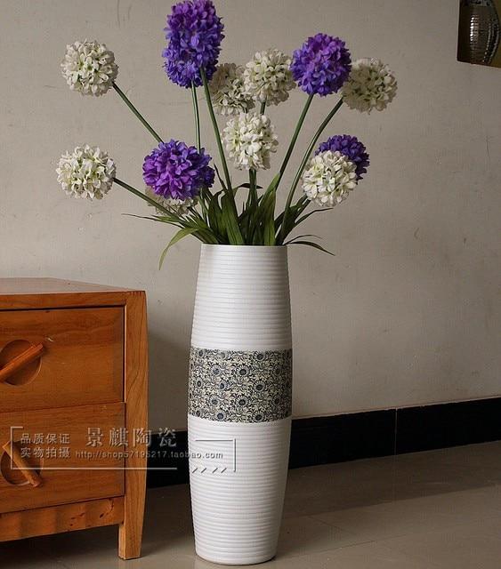 Cheap Jingdezhen Ceramic Vase Fashion Modern Brief Large Floor Vase