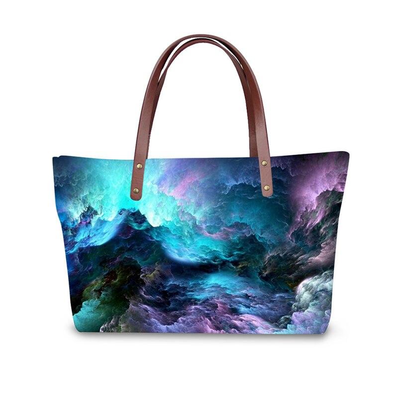 63205bcabea7 3D Star pattern print ladies handbag women lovely note pattern handbags  handbag+messenger bag+