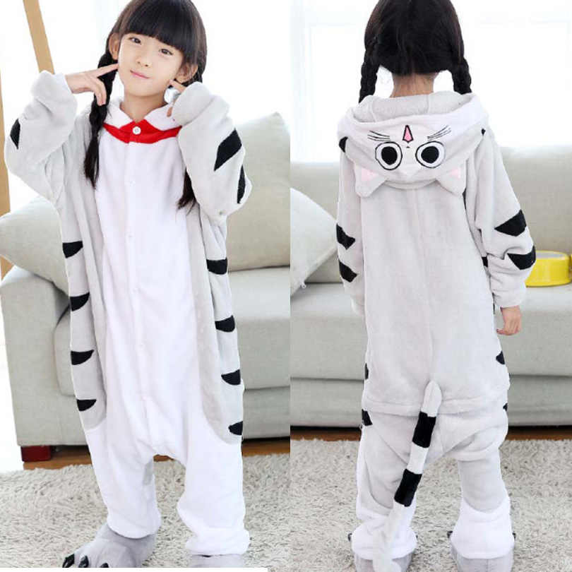 子供着ぐるみパンダパジャマカバーオール、子供動物ピカチュウのパジャマ衣装アニメパーカーパジャマ枕木パジャマ
