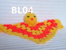 Duck Crochet Baby Blanket