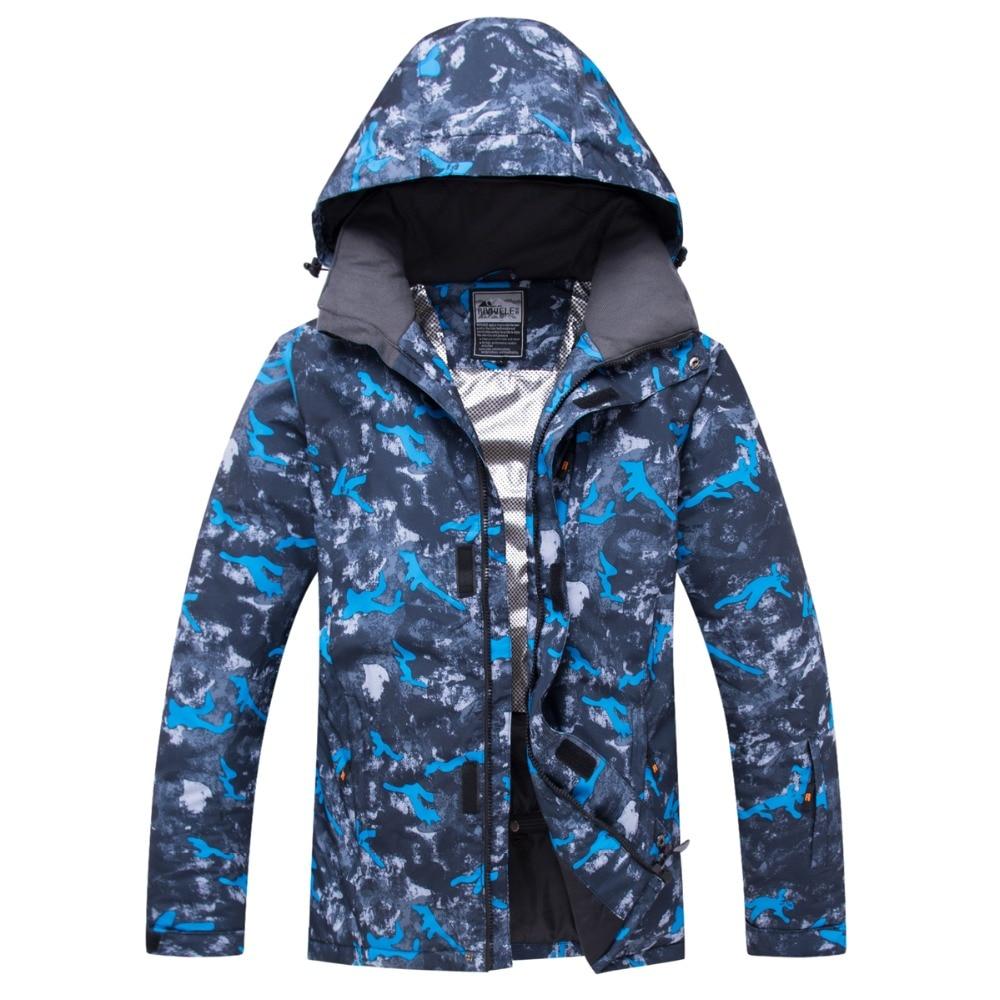 Snowboard Jacket Mens Outdoor Waterproof Windproof Breathable Warm Quality FUWEN New Snow Coat Winter Male Ski Jacket Men цены онлайн
