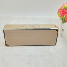 CNC processing steel casing lengthy play time HIFI twin audio system+ diaphragm bult in microphone 1500 Mah capability bluetooth speaker