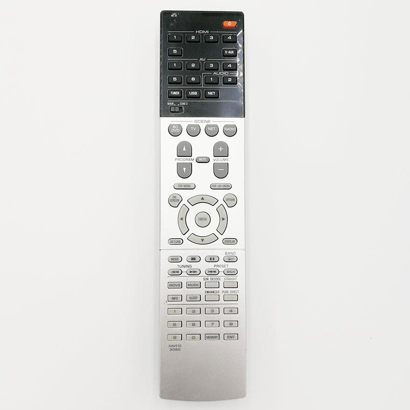 Original Remote Control RAV510 ZK066000 for Yamaha RX-V781 RX-V681 RX-V1079 RX-V679 RX-V779Home Theater Amplifier AV Receiver universal remote control suitable for yamaha rav22 wg70720 home theater amplifier cd dvd rx v350 rx v357 rx v359 htr5830