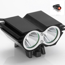 Bicycle Light Bike Led Lights T6 Lamp 3000 Lumens 4800mAh Cycling Light Waterproof With Headband Bike Bicycle Accessories