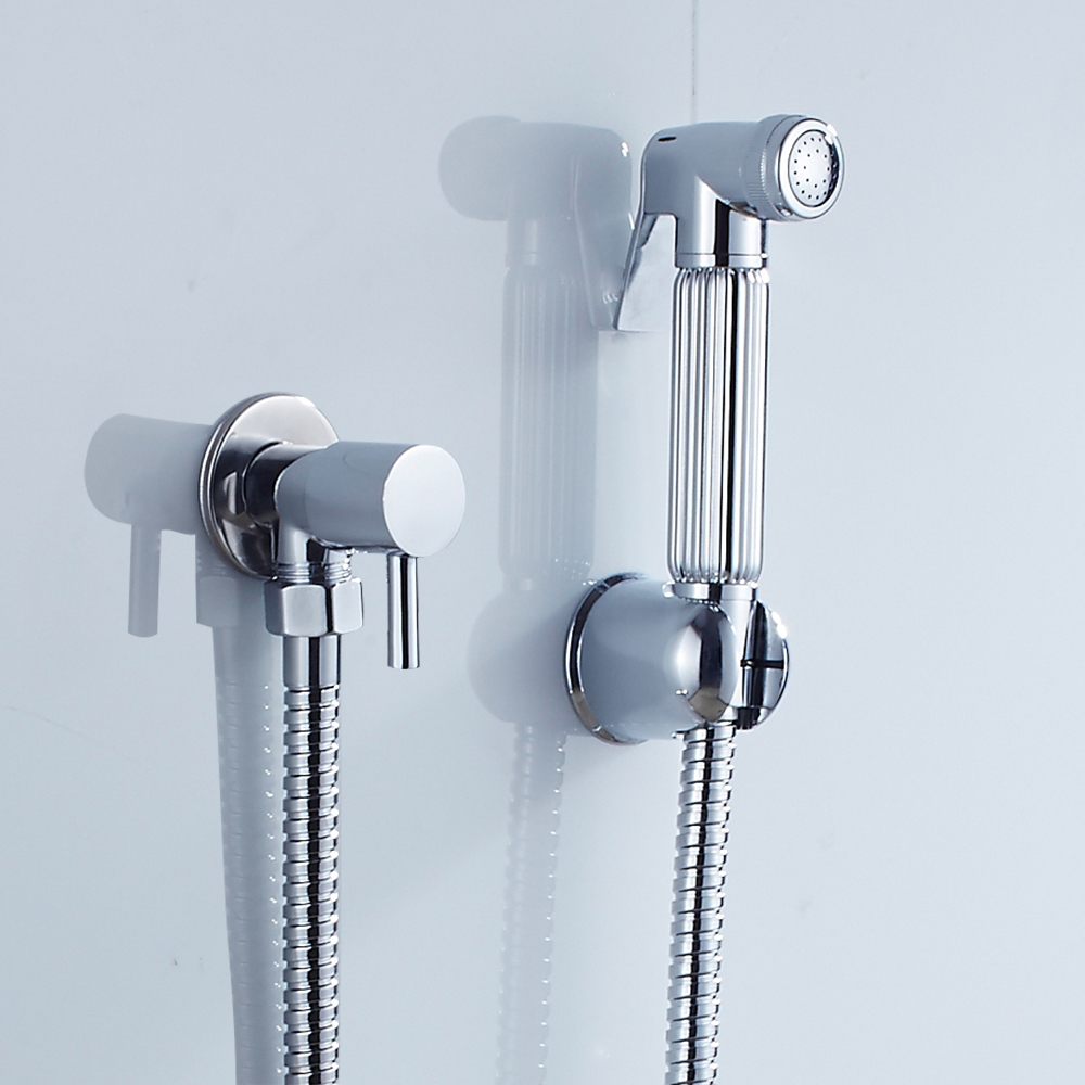 EVERSO Bathroom Faucet Bidet Faucet Set Toilet Shower Spray Bidet ...