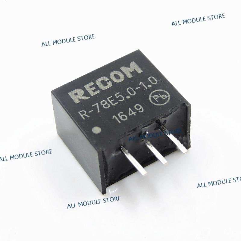 R-78E5.0-1.0  R-78E5.0-0.5 FREE SHIPPING NEW AND ORIGINAL DC/DC Converters