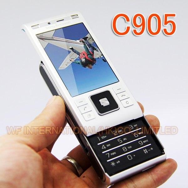 Originele Sony Ericsson C905 Telefoon 8MP WIFI Bluetooth 3G GSM Unlocked C905 Mobiele Gsm-in Mobiele Telefoons van Mobiele telefoons & telecommunicatie op AliExpress - 11.11_Dubbel 11Vrijgezellendag 1