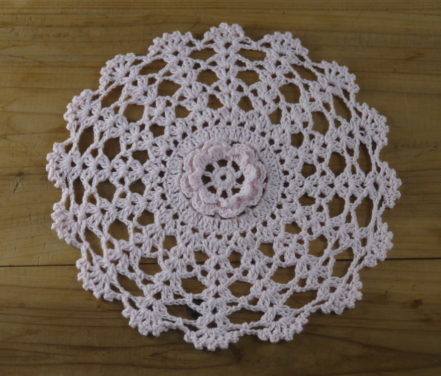 3D Centros Confeccionados doilies 20 cm Vintage Crochet Tejer ...