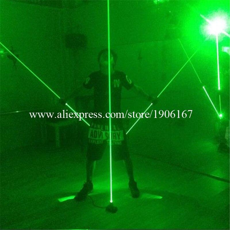 Wecool vente chaude nouveau design main laser épée laser de contrôle par pieds pour stage show danse dans Event & Party fournitures