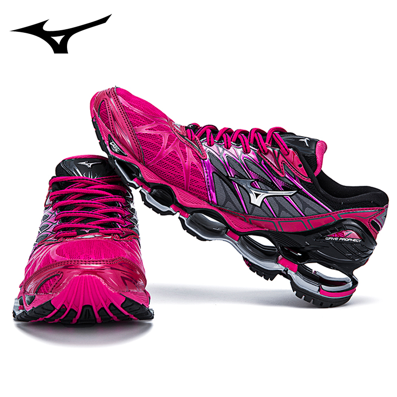 Mizuno Wave PROPHECY 7 Professional Running Shoes Sport Sneakers Weightlifting Shoes Men Shoes Breathable Mesh Upper