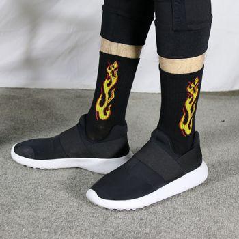 Korea Funky Harajuku Trend Women Checkerboard Socks Geometric Checkered Socks Men Hip Hop Cotton Unisex Streetwear Novelty Socks 13