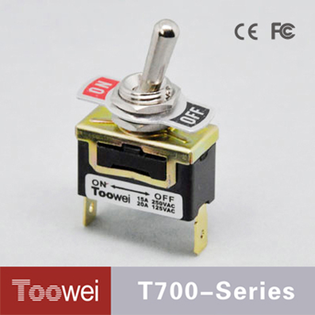 Toowei ON OFF toggle switch with Quick connect terminal on off 2 ...