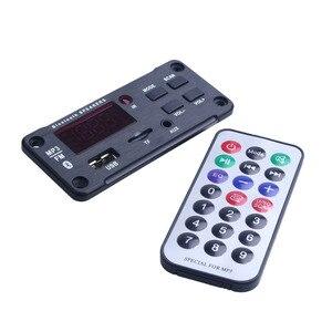Image 4 - 最新のワイヤレス Bluetooth MP3 Wma デコーダボードオーディオモジュールサポート USB TF AUX FM オーディオラジオモジュール用