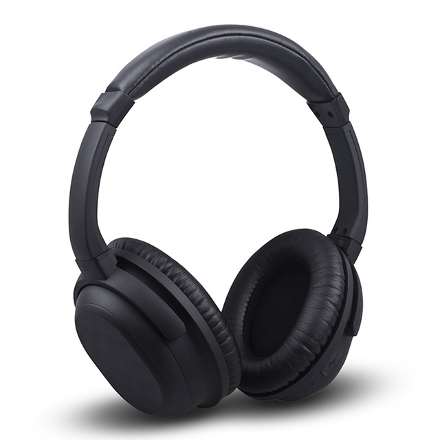 Noise Cancelling Bluetooth Headphone Wireless Wired Handsfree Earphone Adjustable Foldable Headset for Mobile Phone PC Tablet