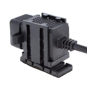 Image 5 - Ladegerät Dual USB Port 12V Wasserdicht Motorrad Motorrad Lenker Ladegerät Adapter Netzteil Buchse für Telefon GPS MP4