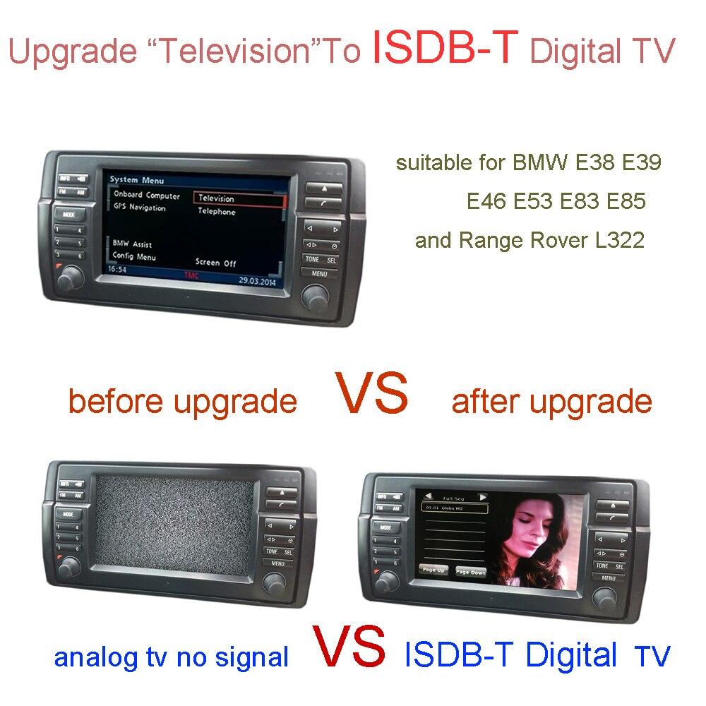 TV numérique ISDB-T pour BMW E38 E39 E46 X5 E53 X3 E83 Z4 E85, Range Rover L322, Rover 75, MG ZT/MG ZT-T