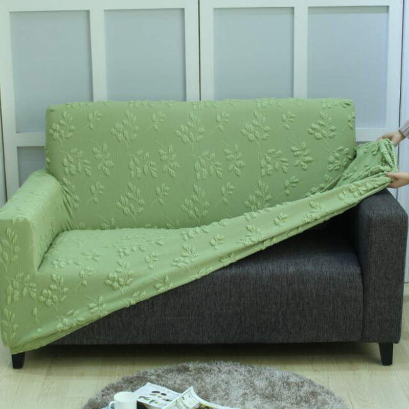 Us 86 2 Solid Color Elastic Sofa Cover Pattern Polyester Waterproof For Sectional Slipcover Couch Para In From