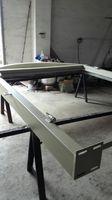 Szanghaj Chiny fabryka produkcji kute Żelazne drzwi wysokiej jakości eksport do USA, model hench-ad35