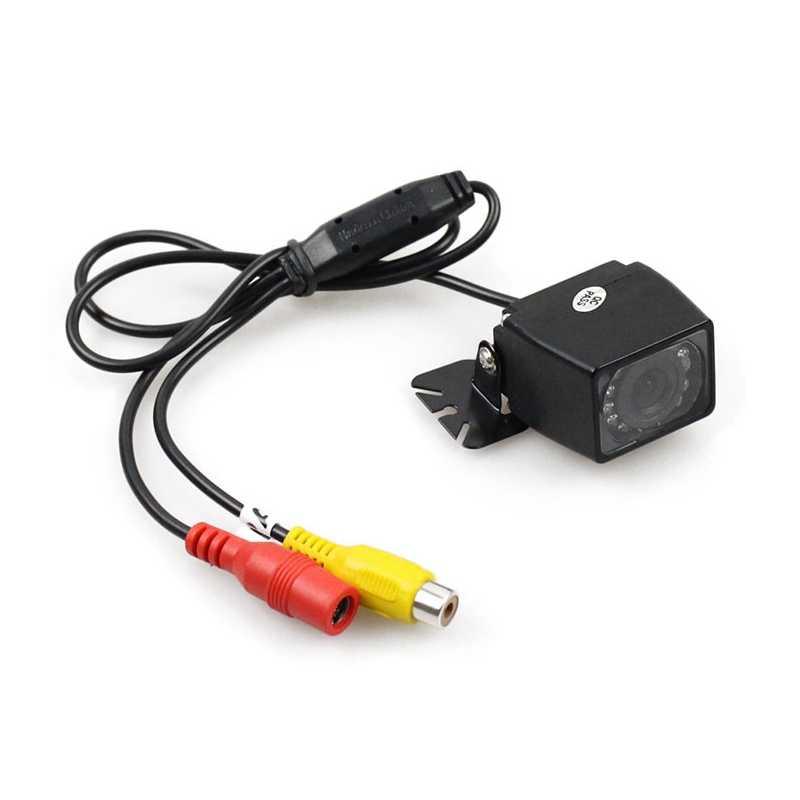 Diykit, беспроводной 5 дюймов автомобиля зеркало заднего вида монитор парковки авто Vedio + светодиодный Ночное видение обратный Камера HD Автомобильная камера заднего вида