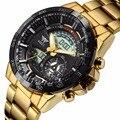 AMST Reloj Masculino de Los Hombres Del Deporte de Moda Militar 3ATM Relojes Nuevos Hombres de la Marca de Lujo 30 m de Buceo LED Digital Analógico Relojes de cuarzo
