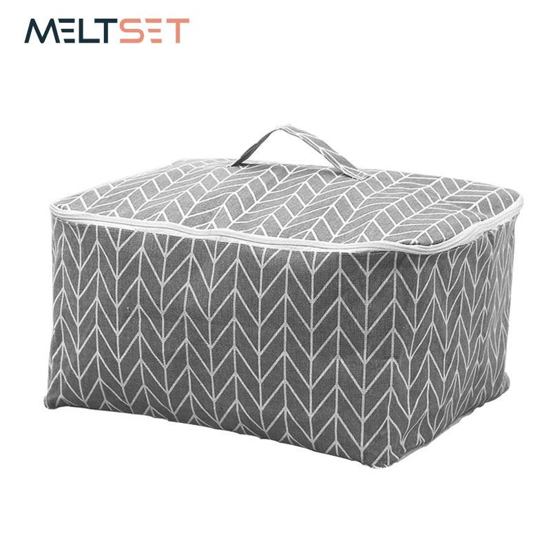 Aliexpress.com : Buy Linen Cotton Quilt Storage Bag
