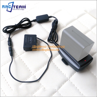 External Power Supply DMW DCC8 With F970 Adapter For Panasonic DMC FZ1000 FZ200 FZ300 G7 G6