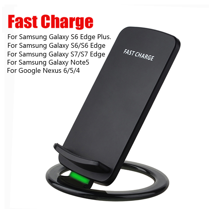for samsung galaxy note5 s6 qi fast wireless charger for. Black Bedroom Furniture Sets. Home Design Ideas