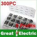 Transistor Assorted Kit TO-92 S9012 S9013 S9014 S8050 S8550 2N3904 2N3906 BC327 BC337 Tl431 A42 A92 A1015 C1815 13001 # CGKCH157
