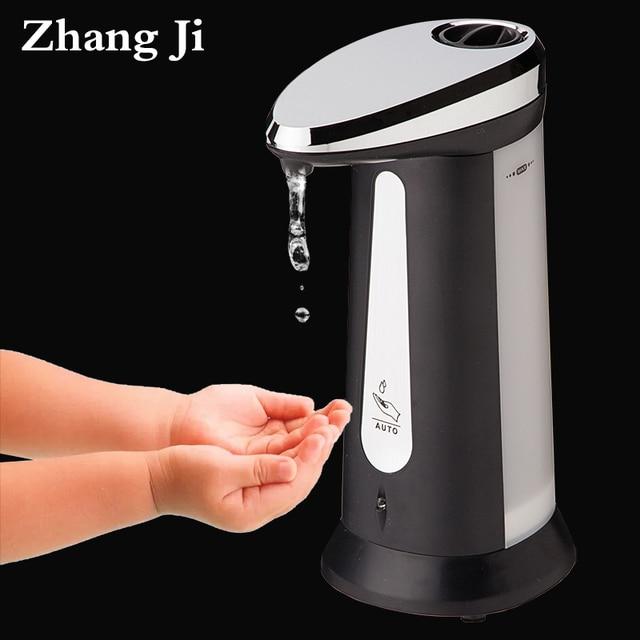 400 ml abs lectrolytique automatique liquide distributeurs de savon pour la cuisine salle de. Black Bedroom Furniture Sets. Home Design Ideas