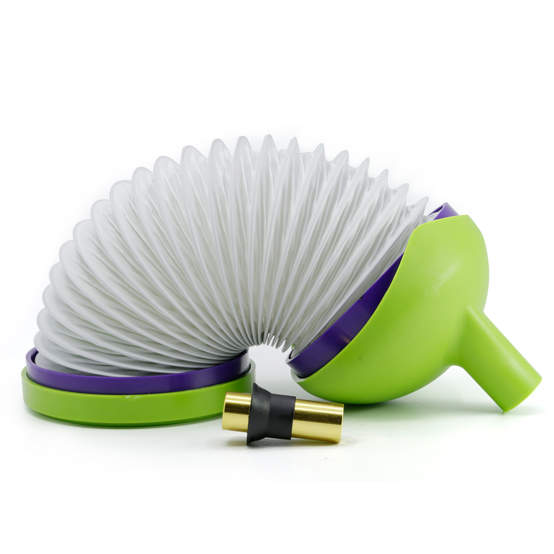 Stretch Folding Portable Smoke Pipe 5