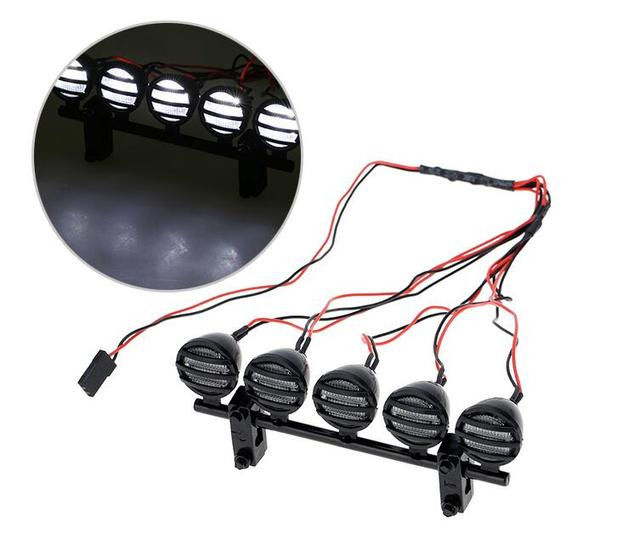 Goede Gratis Verzending G. T. POWER RC auto dak LED verlichting LED ZD-86