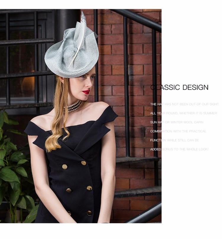 3_elegant wedding hats and fascinators